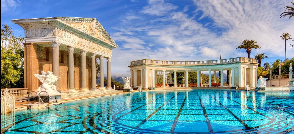 Hearst Castle has amazing pools